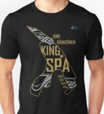 KR - King of Spa, Gold Slim Fit T-Shirt