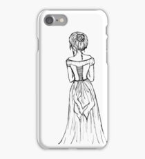 Lady in a Corset iPhone Case/Skin