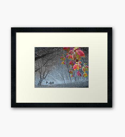 End of November Framed Print