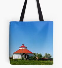 Round Barn Ohio Country Tote Bag
