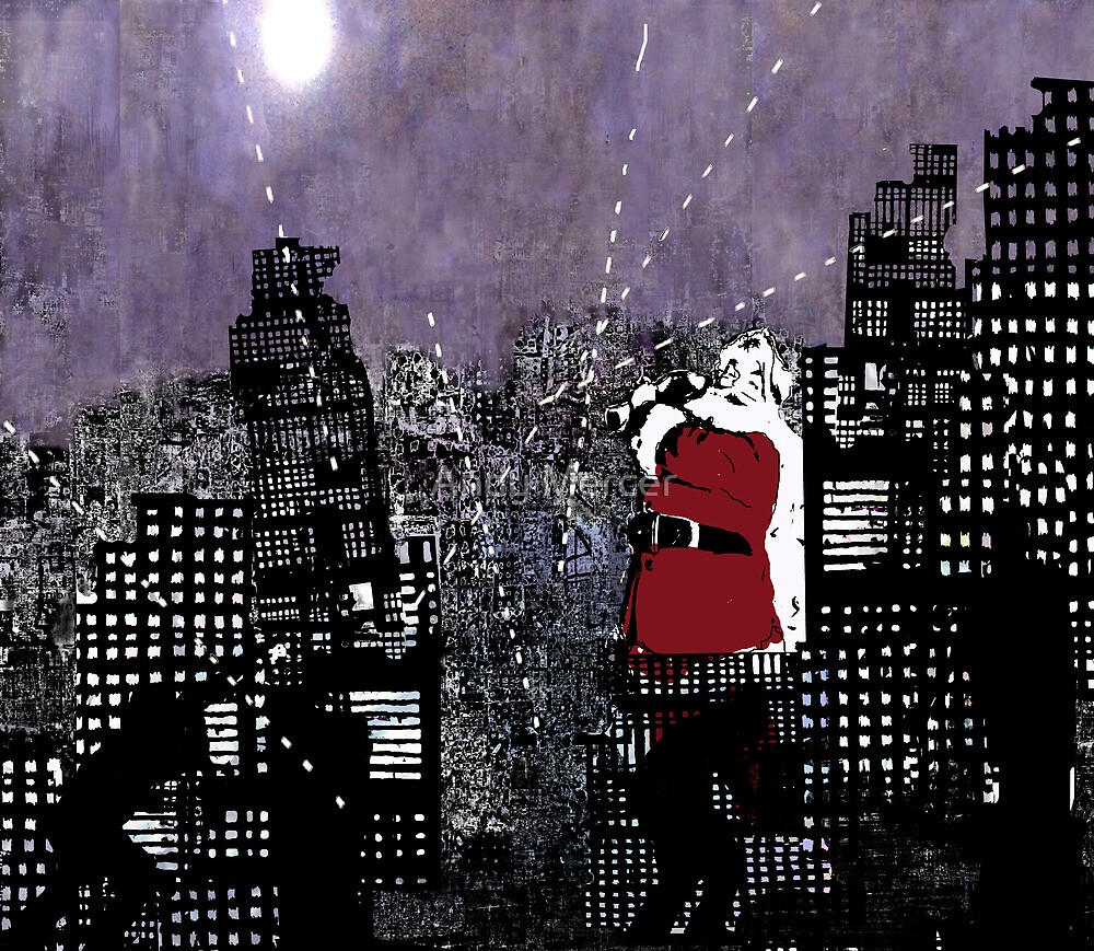 Santa in the Civil War   by Andy Mercer