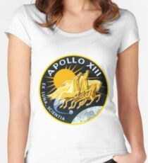 Apollo 13 Mission Logo Women's Fitted Scoop T-Shirt