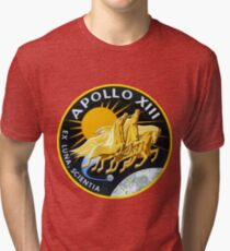 Apollo 13 Mission Logo Tri-blend T-Shirt