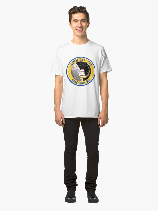 Alternate view of Apollo 12 Mission Logo Classic T-Shirt