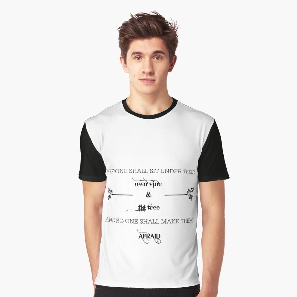 su propia vid Camiseta gráfica
