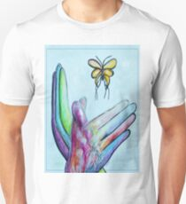 American Sign Language BUTTERFLY Unisex T-Shirt