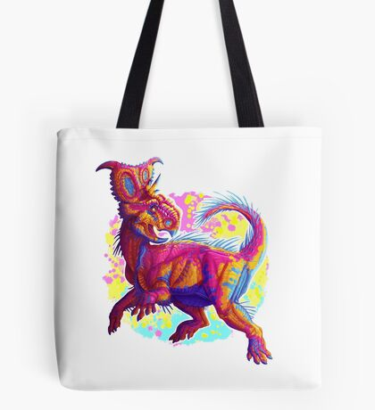 Pachyrhinosaurus (without text)  Tote Bag