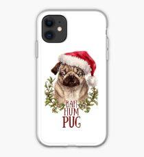 Bah Hum Pug iPhone Case