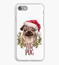 Bah Hum Pug iPhone Case/Skin