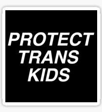 Protect Trans Kids - Feminism.af Sticker