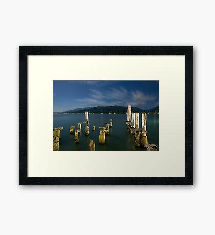 Moonlight in Paradise Framed Print