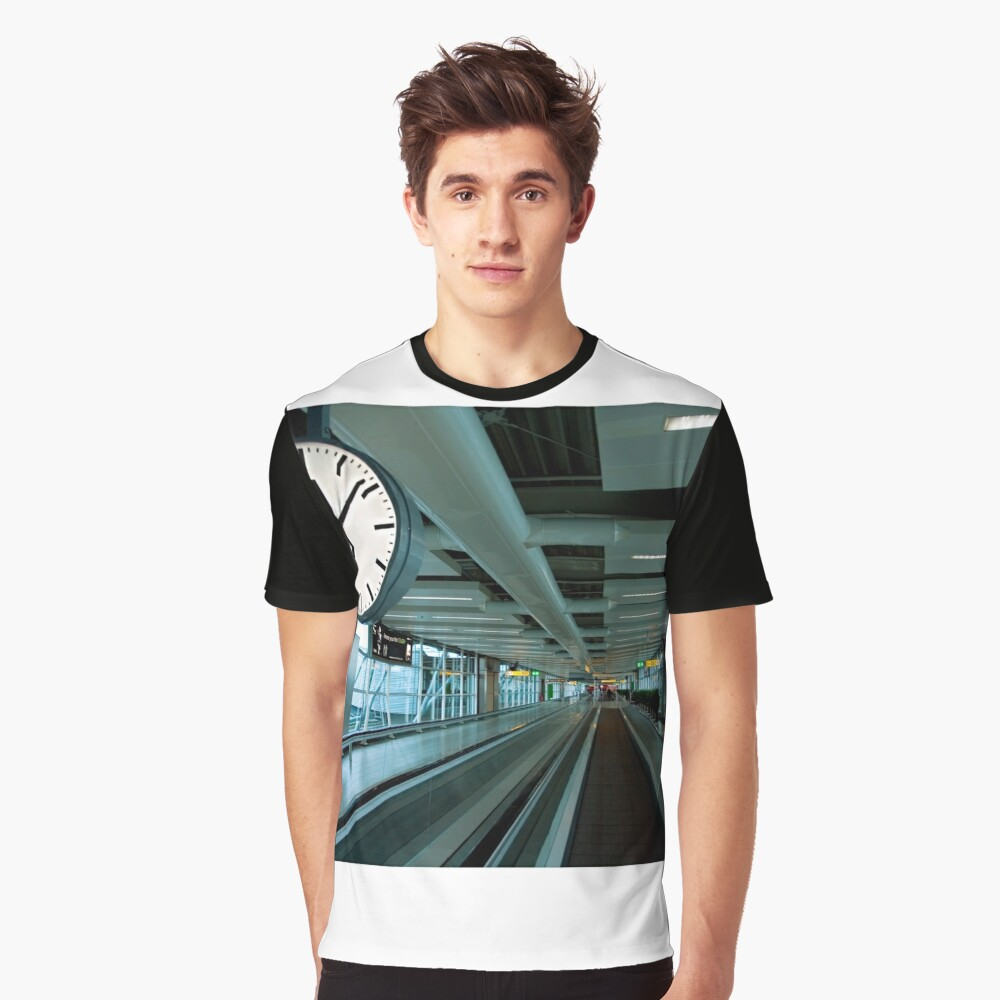 Departure Time 12:20 Graphic T-Shirt