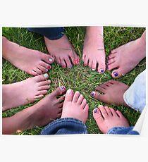 Fun Feet Poster