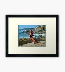Dangerous Mermaid Framed Print