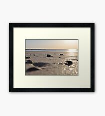 Morning Beach series 10 Framed Print