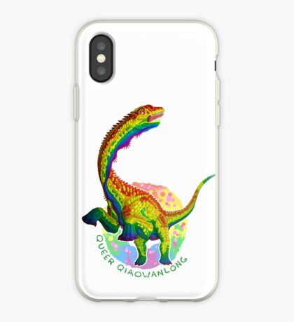 Queer Qiaowanlong (with text)  iPhone Case