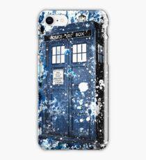 Blue Box Dispersion iPhone Case/Skin