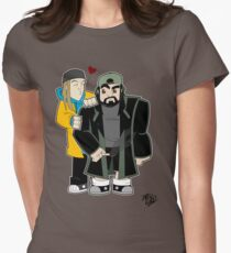 Jay & Silent Bob Womens Fitted T-Shirt