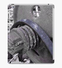 Cool Old Metal  iPad Case/Skin