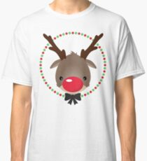 FESTIVE CHRISTMAS T-SHIRT :: rudolph the red nosed reindeer Classic T-Shirt