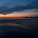Saint Kilda beach  by Beau Williams