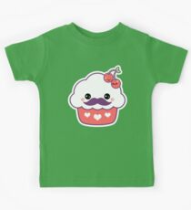 Mustachino Cherries Kids Tee