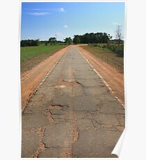 Route 66 - Sidewalk Highway Poster