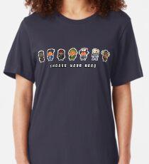 """Choose Your Hero"" - Arrangement Number 2 Slim Fit T-Shirt"