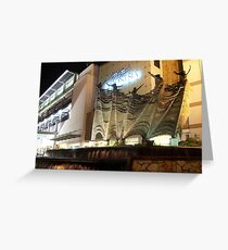 Plaza Indonesia (by night) Greeting Card