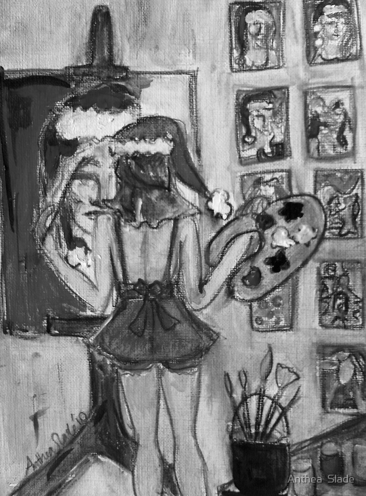 Christmas Artist Dream by Anthea  Slade