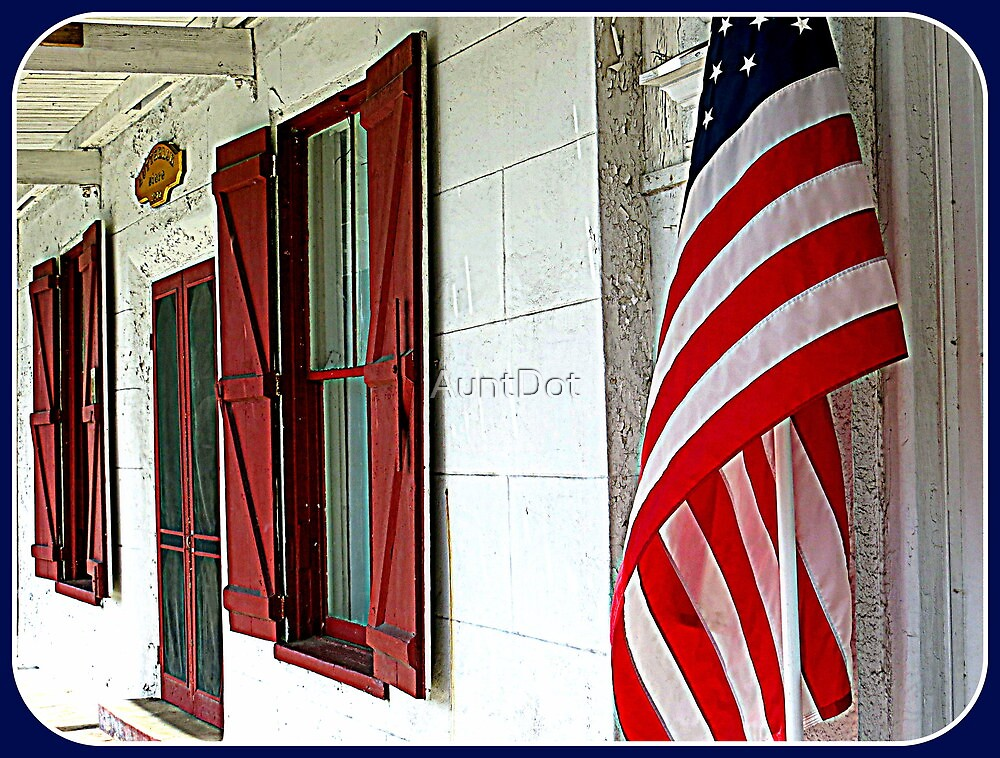 Red White and Blue by AuntDot