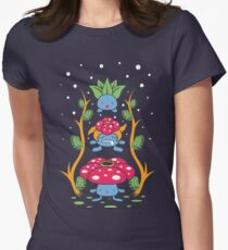 Kanto Forest Women's Fitted T-Shirt