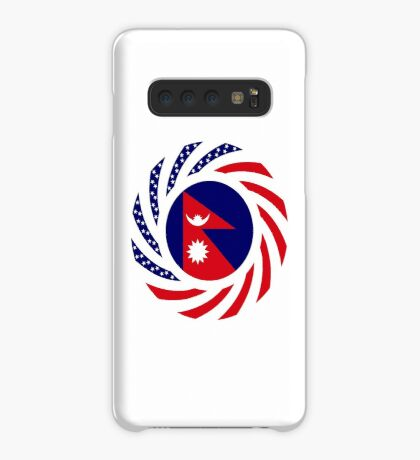 Nepalese American Multinational Patriot Flag Series Case/Skin for Samsung Galaxy