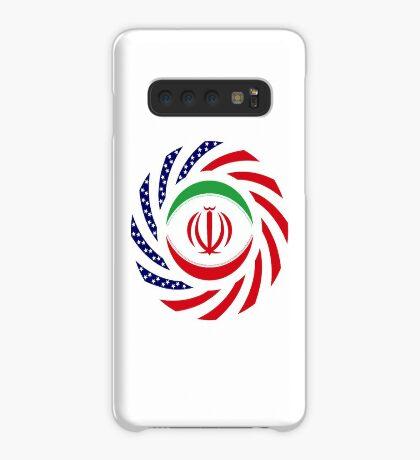 Iranian American Multinational Patriot Flag Series Case/Skin for Samsung Galaxy