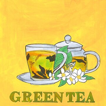 Green tea by francesrosey
