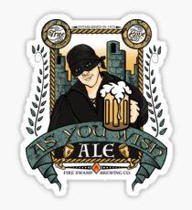 As You Wish Ale Sticker