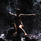 Embarrassing the World. Anna at Eureka Waterfalls, Mauritius by JennyRainbow