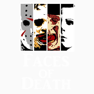 Faces by MurderTees