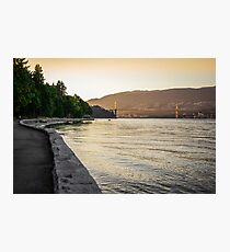 Stanley Park at Dusk Photographic Print