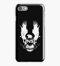 UNSC Logo White iPhone Case/Skin