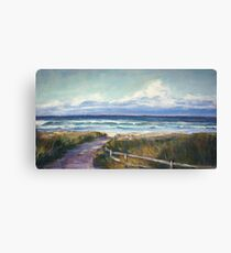 North Boomerang Beach Canvas Print