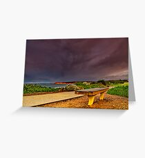"""""""A Seat In A Storm"""" Greeting Card"""