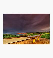 """""""A Seat In A Storm"""" Photographic Print"""