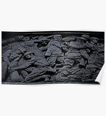 War Memorial Plate Poster