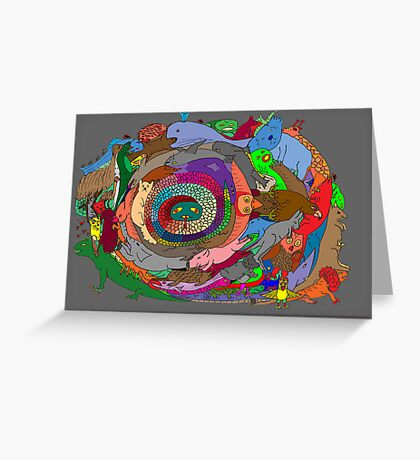 Circle of Life 1 Greeting Card