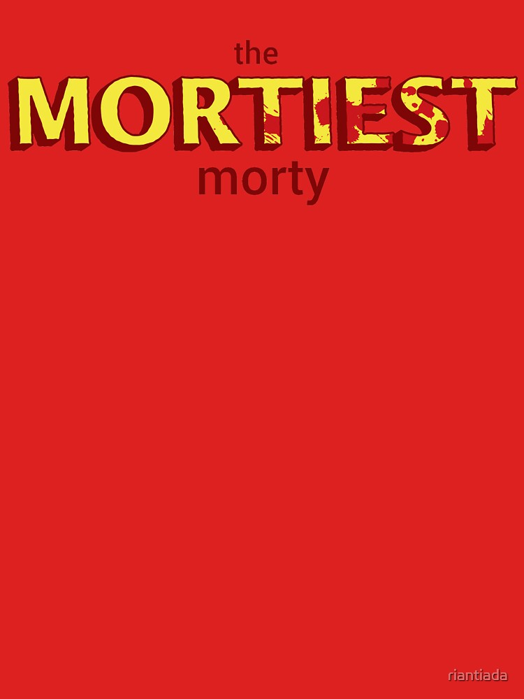The Mortiest Morty by riantiada