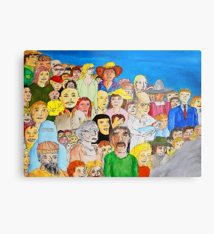 The day the world united as one Metal Print