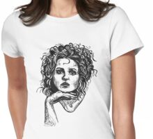 Icon: Helena Bonham Carter Womens Fitted T-Shirt