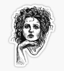 Icon: Helena Bonham Carter Sticker