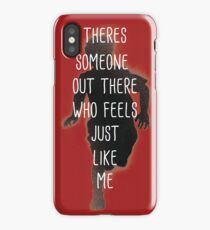 THERES SOMEONE OUT THERE iPhone Case/Skin